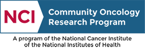 National Cancer Institute Community Oncology Research Program logo